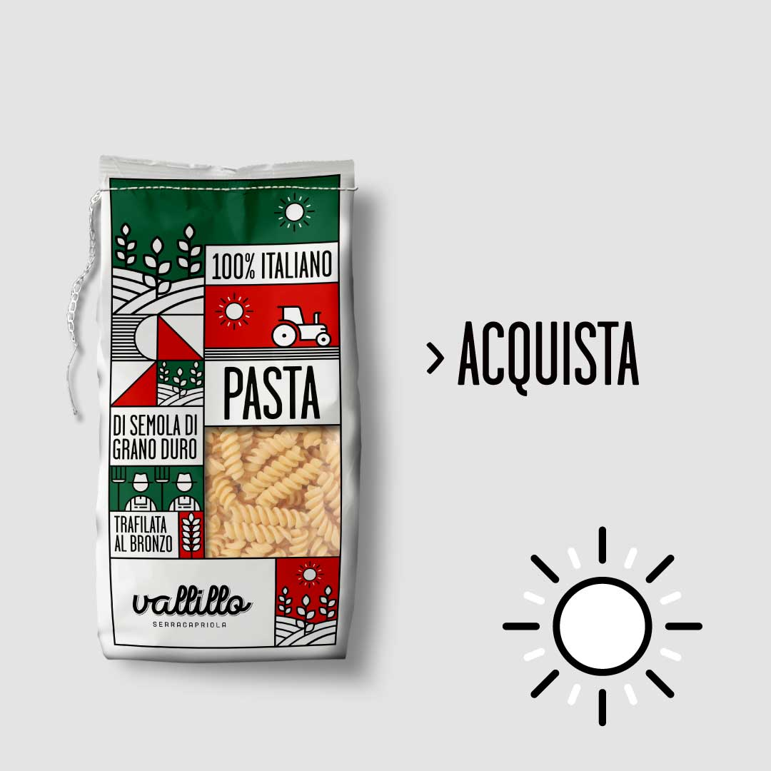 Vallillo - Fusilli 500g - ACQUISTA