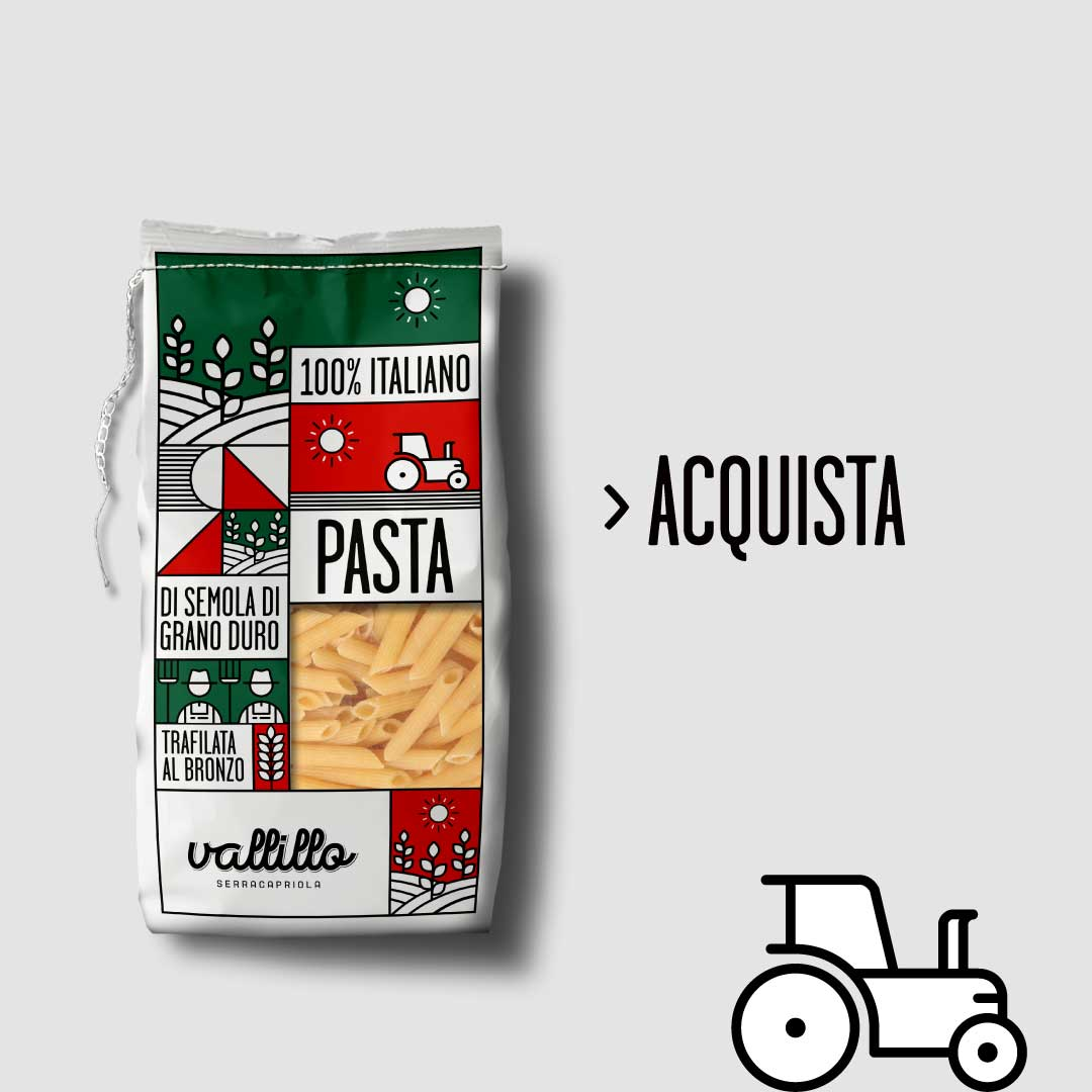 Vallillo - Penne rigate 500g - ACQUISTA