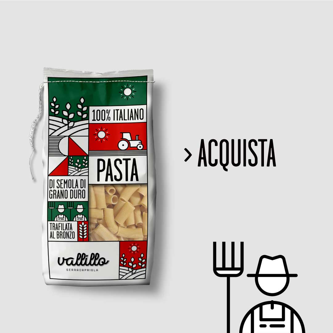 Vallillo - Rigatoni 500g - ACQUISTA